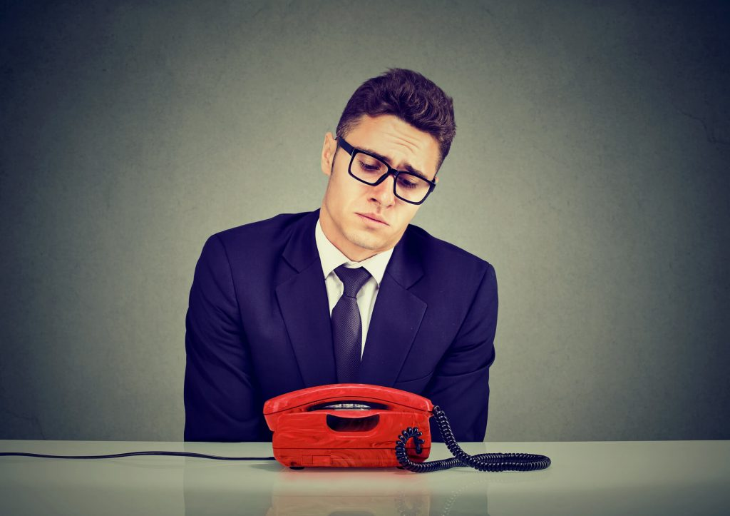 Orange County Business Waiting For Phone To Ring