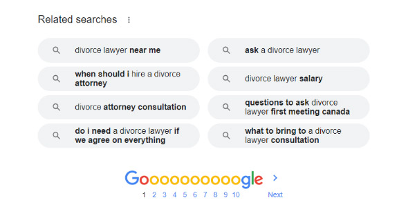 related searches